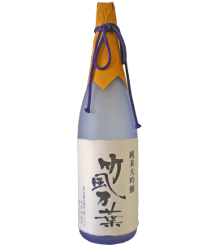 Junmai Daiginjo Bamboo Wind Ten Thousand Leaves